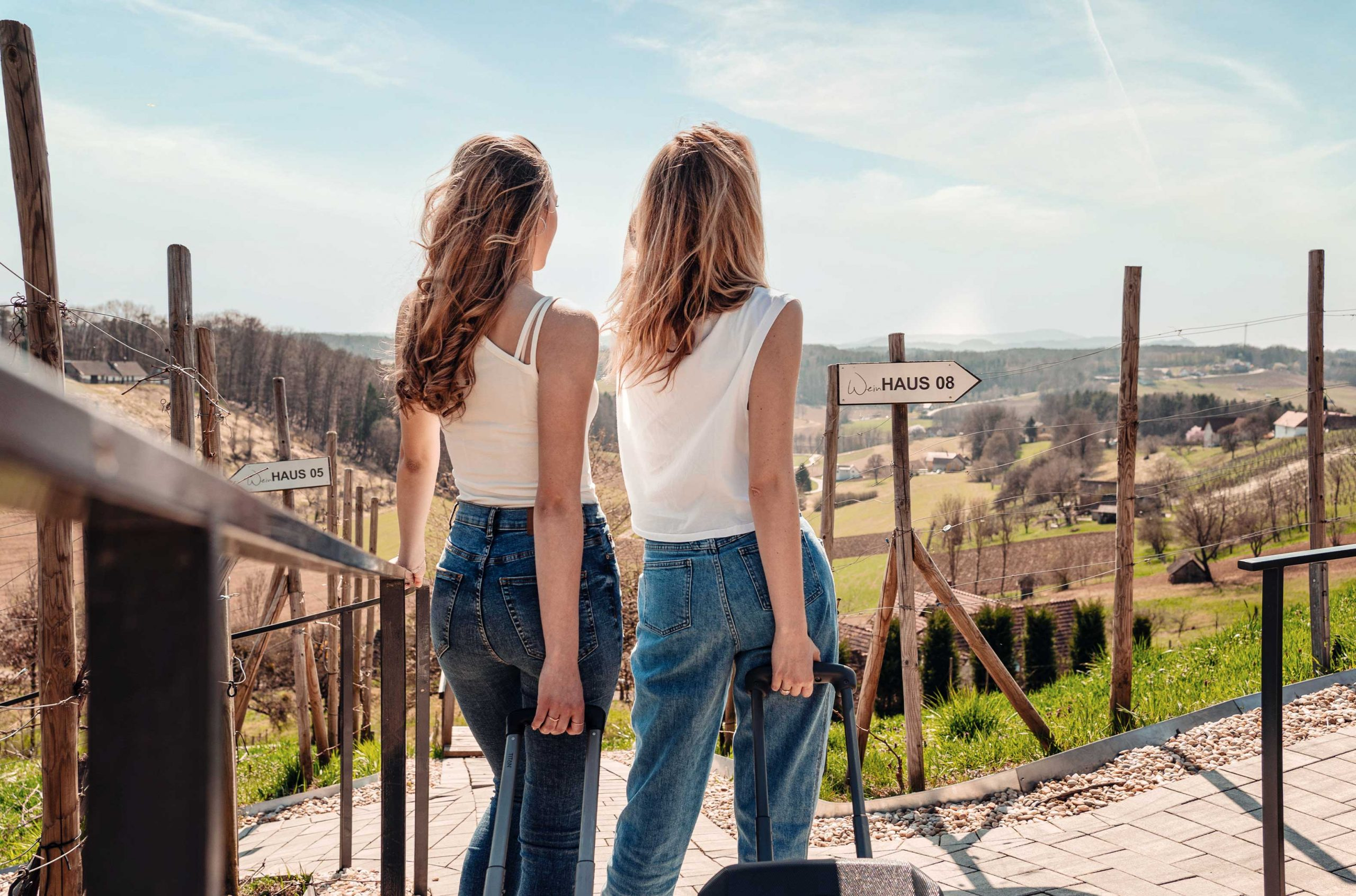 Freundinnen Shooting Tourismus Werbefotografie